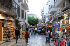 Plaka, Athens, Greece royalty free stock photos
