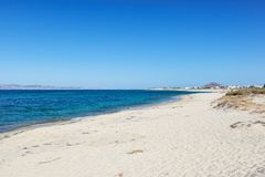 Plaka of Naxos in Cyclades, Greece Royalty Free Stock Images