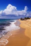 Plaka beach on Naxos island Stock Photography