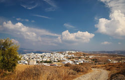 Plaka city Royalty Free Stock Images
