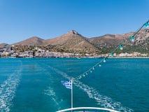 Plaka in Crete, Greece Stock Photo