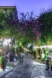 Plaka, een oude historische buurt van Athene Stock Afbeelding