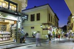 Plaka, een oude historische buurt van Athene Royalty-vrije Stock Fotografie