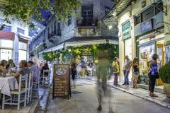 Plaka, een oude historische buurt van Athene Royalty-vrije Stock Foto's