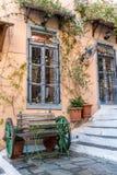 Plaka okręg w Ateny, Grecja Fotografia Royalty Free