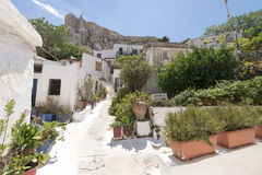 Plaka, old town of Athens Royalty Free Stock Photography