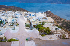 Plaka from the skies Stock Photography