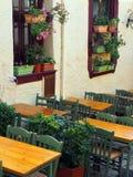 Plaka taverna,雅典,希腊 库存图片