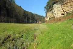 Plakanek valley in Bohemian Paradise. Czech Republic stock image