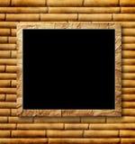 Plakat av svart i en dekorativ räckvidd Arkivfoton