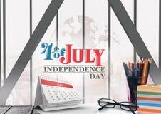 Plakat des Unabhängigkeitstags vektor abbildung