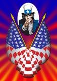 Plakat des Uncle Sams Lizenzfreies Stockfoto