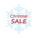 Plakat dla zim sprzedaży Fotografia Stock