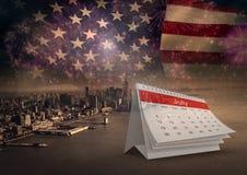 Plakat dzień niepodległości Fotografia Royalty Free