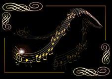Plakat für Musik - Vektor vektor abbildung