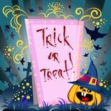 Plakat-Halloween-Tag Stockfotos