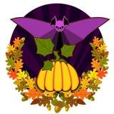Plakat-Halloween-Tag Lizenzfreies Stockbild