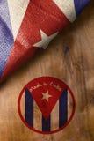 Plakat hergestellt in Kuba Lizenzfreie Stockfotografie