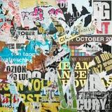 Plakat-Hintergrund Stockfotos