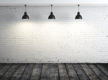 Plakat im weißen Raum Lizenzfreie Stockbilder