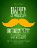 Plakat St. Patrick Day Stockfotos
