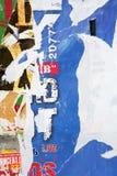 plakat tekstury ściany Zdjęcia Stock
