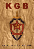 Plakat von UDSSR Stock Abbildung