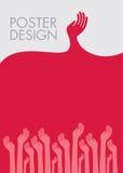 Plakatdesign von Jugend Lizenzfreie Stockfotografie