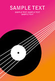 Plakatmusik Stock Abbildung