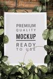 Plakatowa mockup premii reklamy dekoracja Fotografia Stock