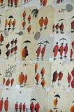Plakatowa pamiątka z michaelita Laos Fotografia Stock