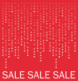 plakatowa sprzedaż Fotografia Stock