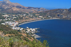 Plakias bay at Crete island in Greece Stock Photo