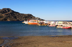 Plakias harbour Crete Stock Images