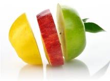 Plakken van appelen Royalty-vrije Stock Foto's