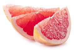 Plakken van grapefruit. royalty-vrije stock foto