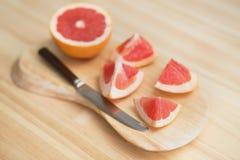 Plakken van grapefruit Royalty-vrije Stock Afbeeldingen