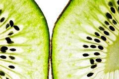 Plakken van het fruit van de Kiwi Royalty-vrije Stock Afbeelding