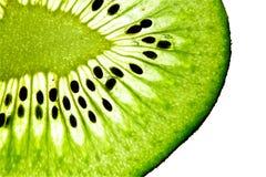 Plakken van het fruit van de Kiwi Royalty-vrije Stock Fotografie