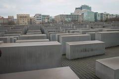Plakken van het Gedenkteken aan Moorde Joden van Europa royalty-vrije stock fotografie
