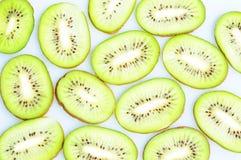 Plakken van kiwivruchten Stock Foto