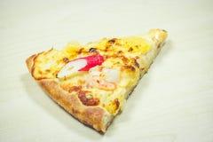 Plakken van pizza Royalty-vrije Stock Afbeelding