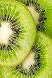 Plakken van sappig kiwifruit Royalty-vrije Stock Fotografie