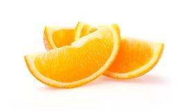 Plakken van sinaasappel Stock Foto