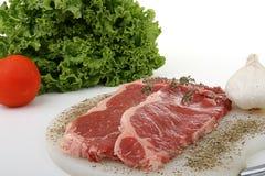 Plakken van vlees Stock Fotografie