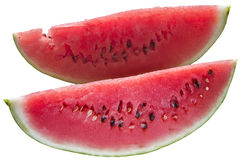Plakken van watermeloen stock fotografie