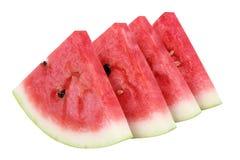 Plakken van Watermeloen Royalty-vrije Stock Foto's