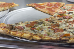 Plakpizza stock fotografie