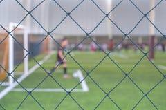 Plama bawić się futbol zdjęcia stock