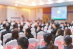 Plama biznesowa konferencja i prezentacja w konferenci h obraz royalty free